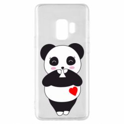 Чохол для Samsung S9 Cute panda