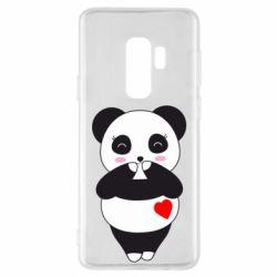 Чохол для Samsung S9+ Cute panda
