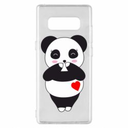 Чохол для Samsung Note 8 Cute panda