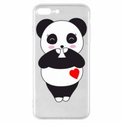 Чохол для iPhone 8 Plus Cute panda