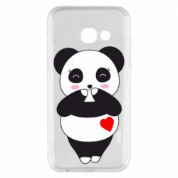 Чохол для Samsung A3 2017 Cute panda