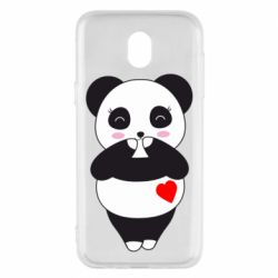 Чохол для Samsung J5 2017 Cute panda