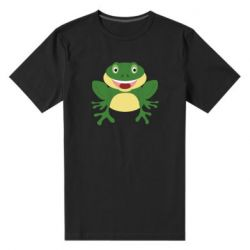 Мужская стрейчевая футболка Cute toad