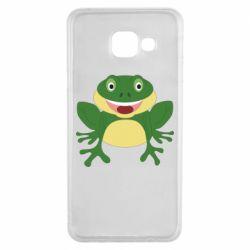 Чехол для Samsung A3 2016 Cute toad
