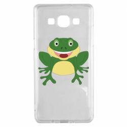 Чехол для Samsung A5 2015 Cute toad