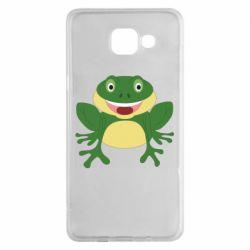 Чехол для Samsung A5 2016 Cute toad