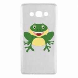 Чехол для Samsung A7 2015 Cute toad