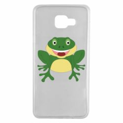 Чехол для Samsung A7 2016 Cute toad