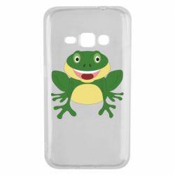Чехол для Samsung J1 2016 Cute toad