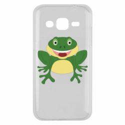 Чехол для Samsung J2 2015 Cute toad