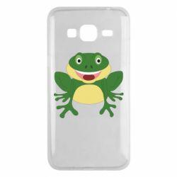 Чехол для Samsung J3 2016 Cute toad