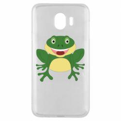 Чехол для Samsung J4 Cute toad