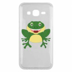 Чехол для Samsung J5 2015 Cute toad