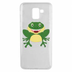 Чехол для Samsung J6 Cute toad