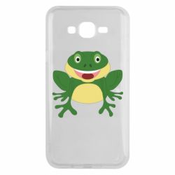 Чехол для Samsung J7 2015 Cute toad