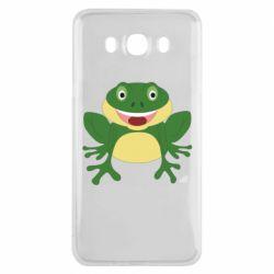 Чехол для Samsung J7 2016 Cute toad
