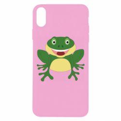 Чехол для iPhone Xs Max Cute toad