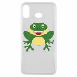 Чехол для Samsung A6s Cute toad
