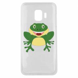 Чехол для Samsung J2 Core Cute toad