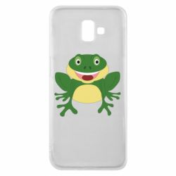 Чехол для Samsung J6 Plus 2018 Cute toad