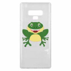 Чехол для Samsung Note 9 Cute toad