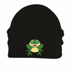 Шапка на флисе Cute toad