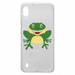 Чехол для Samsung A10 Cute toad