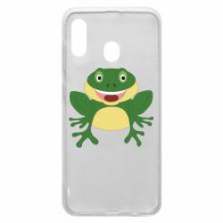 Чехол для Samsung A20 Cute toad