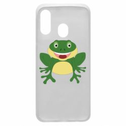 Чехол для Samsung A40 Cute toad