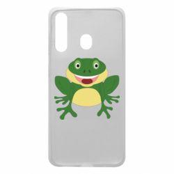 Чехол для Samsung A60 Cute toad