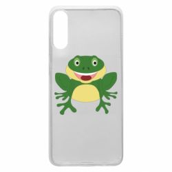 Чехол для Samsung A70 Cute toad