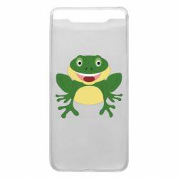 Чехол для Samsung A80 Cute toad