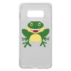 Чехол для Samsung S10e Cute toad