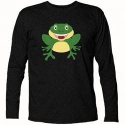 Футболка с длинным рукавом Cute toad
