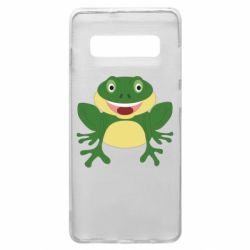 Чехол для Samsung S10+ Cute toad