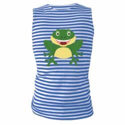 Майка-тельняшка Cute toad