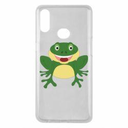 Чехол для Samsung A10s Cute toad
