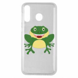 Чехол для Samsung M30 Cute toad