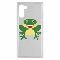 Чехол для Samsung Note 10 Cute toad