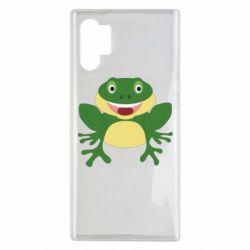 Чехол для Samsung Note 10 Plus Cute toad
