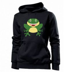Женская толстовка Cute toad