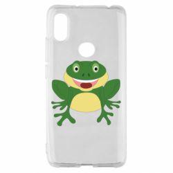 Чехол для Xiaomi Redmi S2 Cute toad