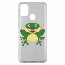Чехол для Samsung M30s Cute toad