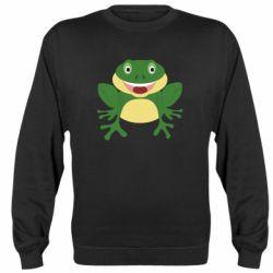 Реглан (свитшот) Cute toad