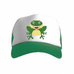 Детская кепка-тракер Cute toad