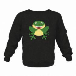 Детский реглан (свитшот) Cute toad