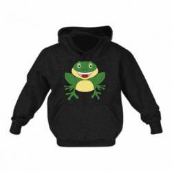 Детская толстовка Cute toad