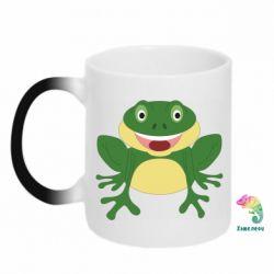 Кружка-хамелеон Cute toad