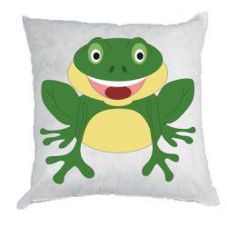 Подушка Cute toad