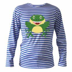 Тельняшка с длинным рукавом Cute toad